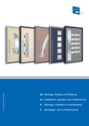 en fr it - Groke Türen und Tore GmbH