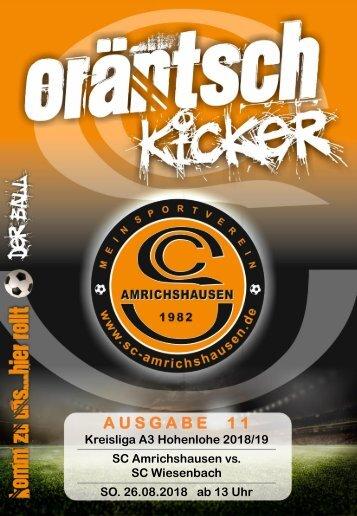 Ausgabe 11 / SCA - SC Wiesenbach