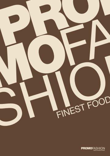 Katalog Finest Food 2018