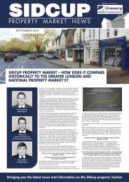 SIDCUP PROPERTY NEWS - SEPTEMBER 2018
