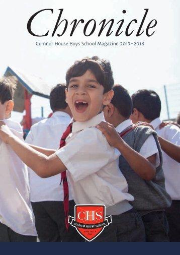 CHS Boys Chronicle 2017-18