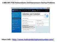 1-888-489-7936 Malwarebytes Anti-Ransomware Startup Problems