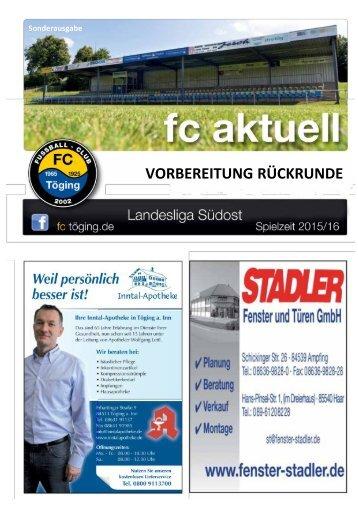 fc aktuell Saison 2015/16 Sonderausgabe