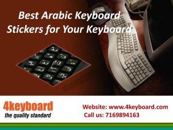 Best Arabic Keyboard Stickers for Your Keyboard