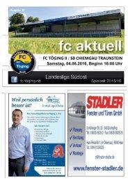 fc aktuell Saison 2015/16 Ausgabe 18