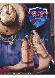 #652 Catálogo Wild West Boots Catalog Botas Exoticas por Mayoreo