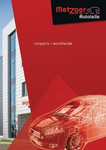 Metzger Autoteile - Broschüre 2018 (D)