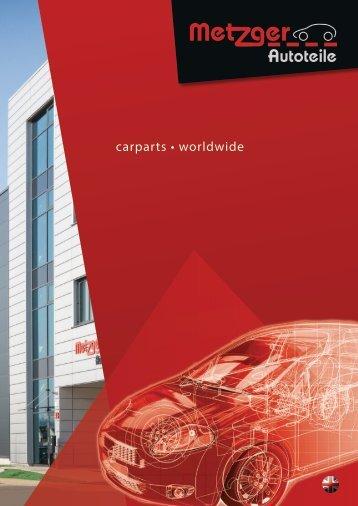 Metzger Autoteile - Broschüre 2018 (ENG)