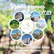 Séjours Groupes 2019 - Relai France Vacances