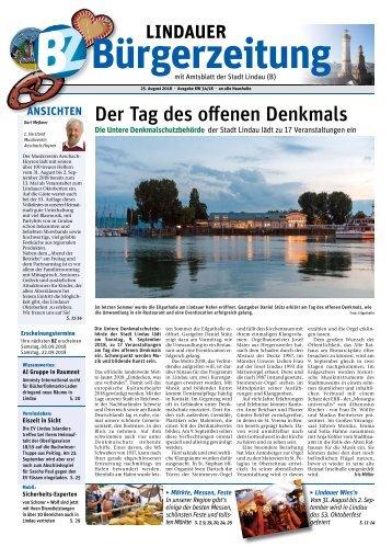25.08.2018 Lindauer Bürgerzeitung