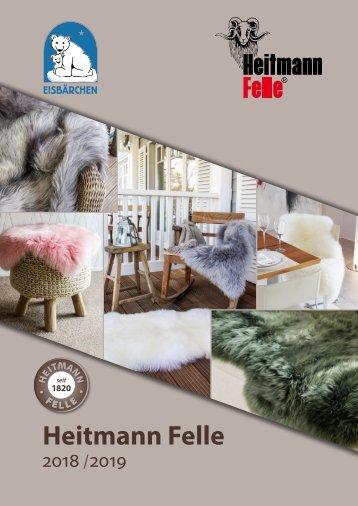 Heitmann Felle Katalog 2018-19