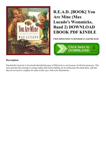 you are special max lucado pdf free download