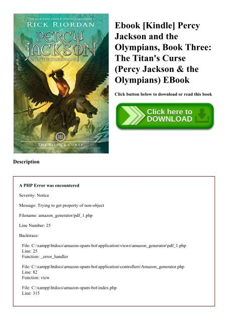 The Titans Curse Pdf