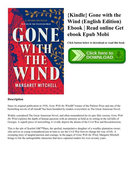 Margaret Mitchell Gone With The Wind Epub