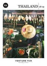 Venture Far - Thailand 18/19 Brochure