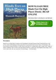 DOWNLOAD FREE Hinds Feet On High Places Ebook  READ ONLINE