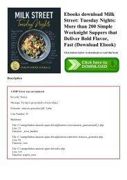 Ebooks download Milk Street Tuesday Nights More than 200 Simple Weeknight Suppers that Deliver Bold Flavor  Fast (Download Ebook)