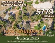 Calendar and Program guide 5779