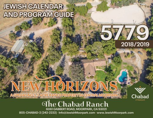 Calendar and Program guide 5779