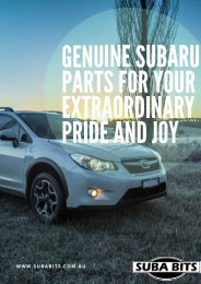 Genuine Subaru B4510FG000 STI Radiator Support Bushing Kit