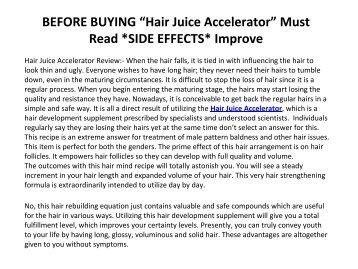 The Dirty Truth on Hair Growth Formula