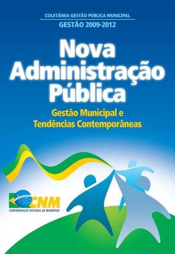 Livro-Nova-Administração-Pública-2008-CNM
