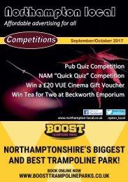 Northampton Local Flick Book  September