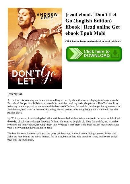read ebook] Don't Let Go (English Edition) Ebook Read online