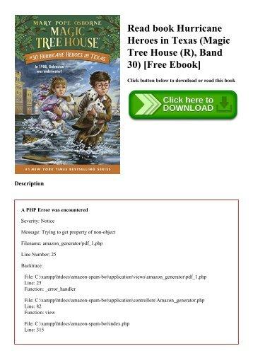 Read book Hurricane Heroes in Texas (Magic Tree House (R)  Band 30) [Free Ebook]