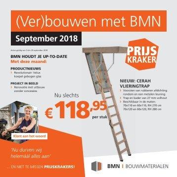 BMN krant - (ver)bouwen met bmn > doen we. Editie september 2018
