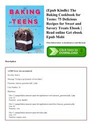 (Epub Kindle) The Baking Cookbook for Teens 75 Delicious Recipes for Sweet and Savory Treats Ebook  Read online Get ebook Epub Mobi