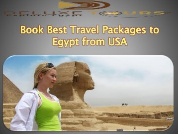 Book Best Travel Packages to Egypt from USA
