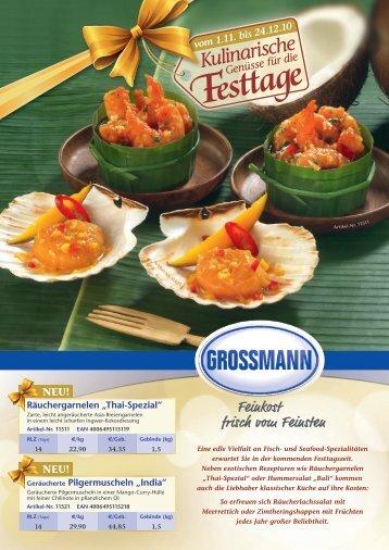 NEU! - Grossmann Feinkost GmbH