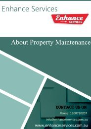 The Ultimate Property Maintenance Guide