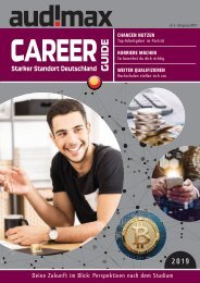 audimax CAREER-Guide 2019