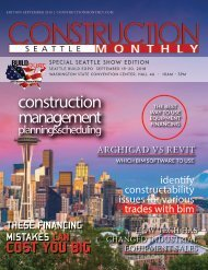 Seattle Construction Monthly