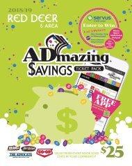 Red Deer - 2018/19 Admazing Savings Coupon Books