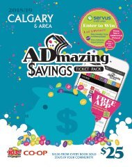 2018/19 ADMAZING SAVINGS COUPON BOOK
