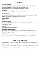 St Mary Redcliffe Church Pew Leaflet - August 26 2018 - Page 5