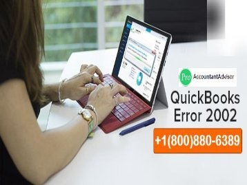 Fix QuickBooks Payroll Error 2002 with Advanced Solution [Fixed]