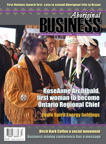 Aboriginal Business Magazine - Spring/Summer 2018