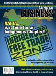 Aboriginal Business Magazine - Fall/Winter 2017