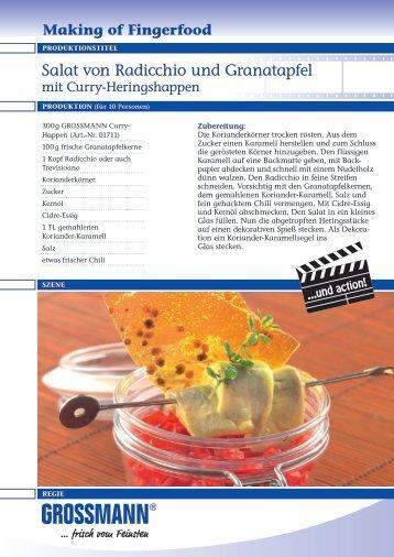 Making of Fingerfood - Grossmann Feinkost GmbH