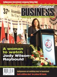 Aboriginal Business Magazine- Spring/Summer 2016