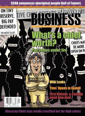 Aboriginal Business Magazine - Winter/Spring 2011