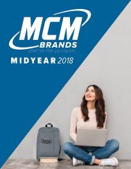 MCM Brands 2018 Mid-Year Catalog