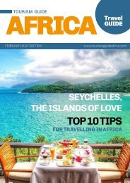 Tourism Guide Africa Travel Guide February - May 2017 Edition