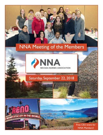 2018 NV Nurses Association Yearbook