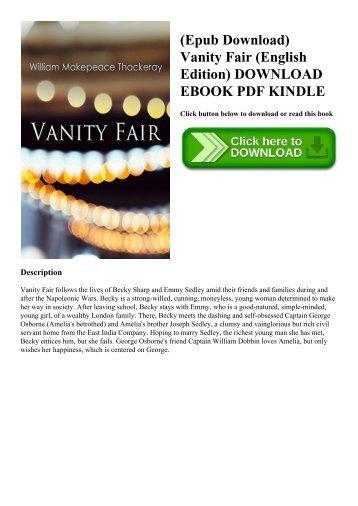 Fair novel pdf vanity