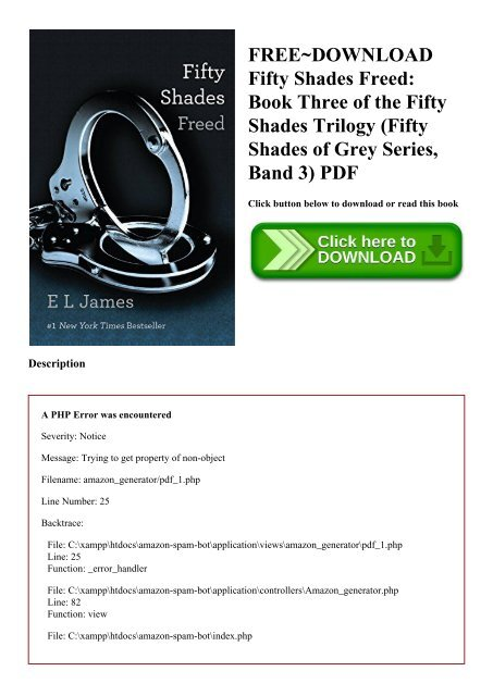 fifty shades freed pdf free download